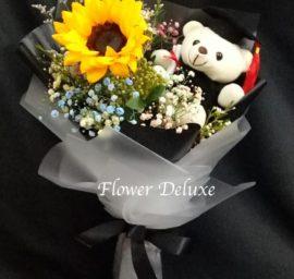 GB006 Sunflower  & Bear