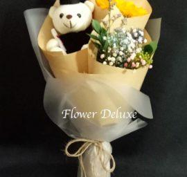 GB007 Sunflower & Bear